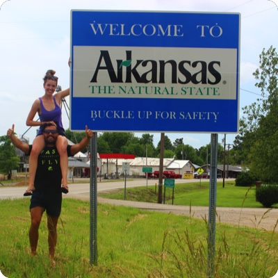 Arkansas State Sign