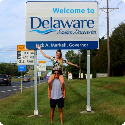 Delaware State Sign