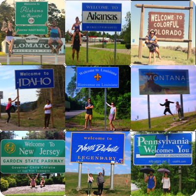 State Welcome Signs Thumbnail
